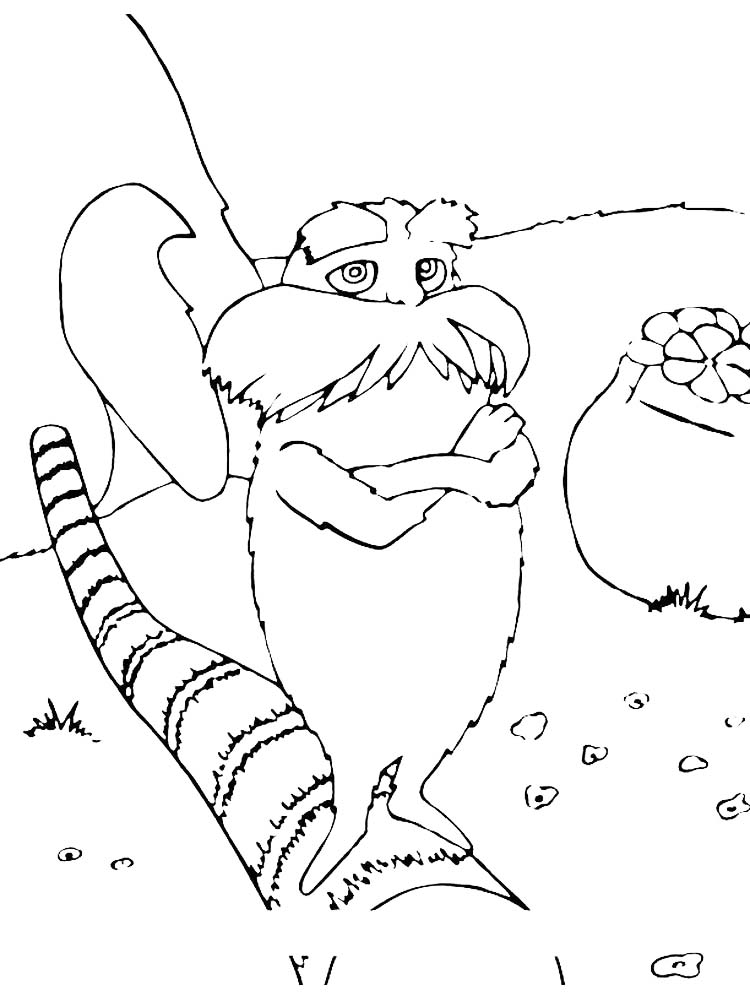 Printable horton hears a who coloring pages picture