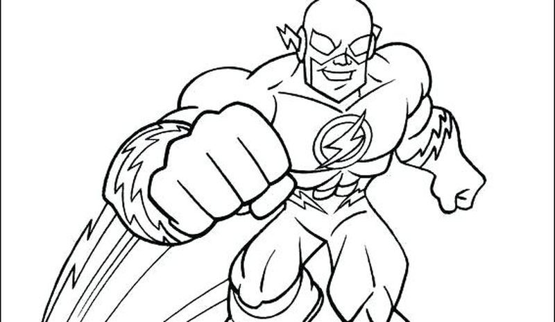 Printable superhero coloring pages free
