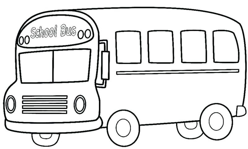 Tayo The Bus Coloring Page