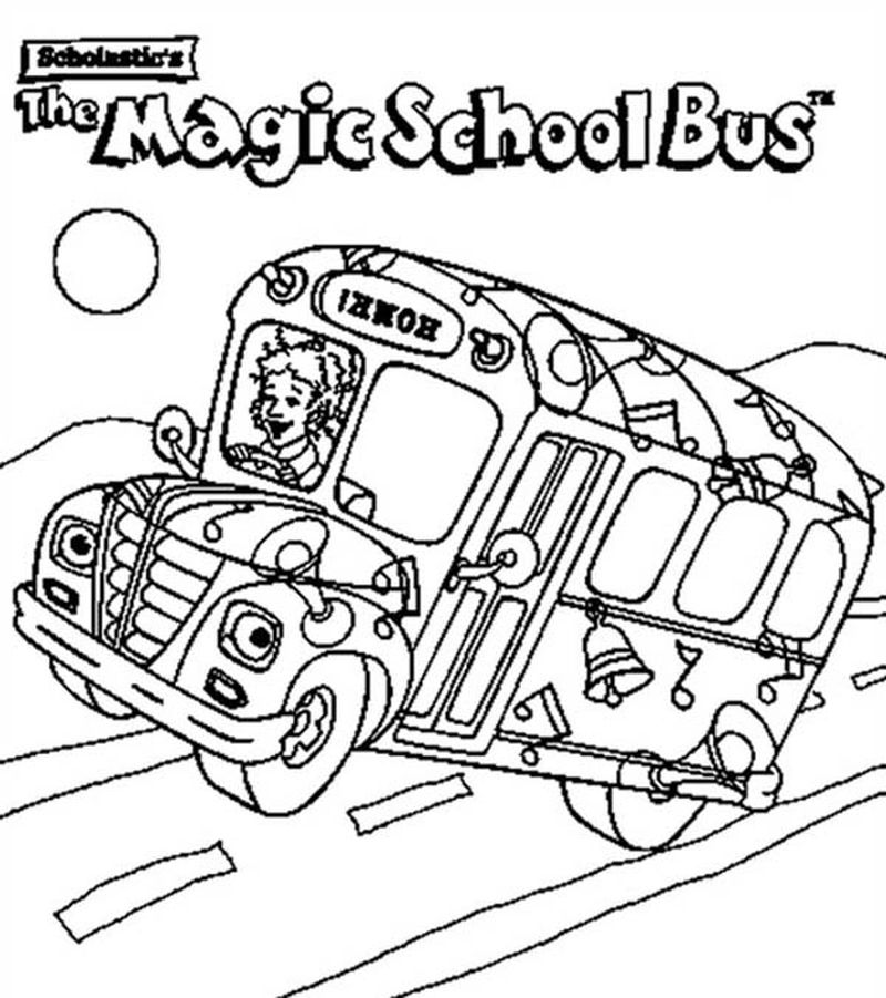 Tayo The Little Bus Colouring Pages