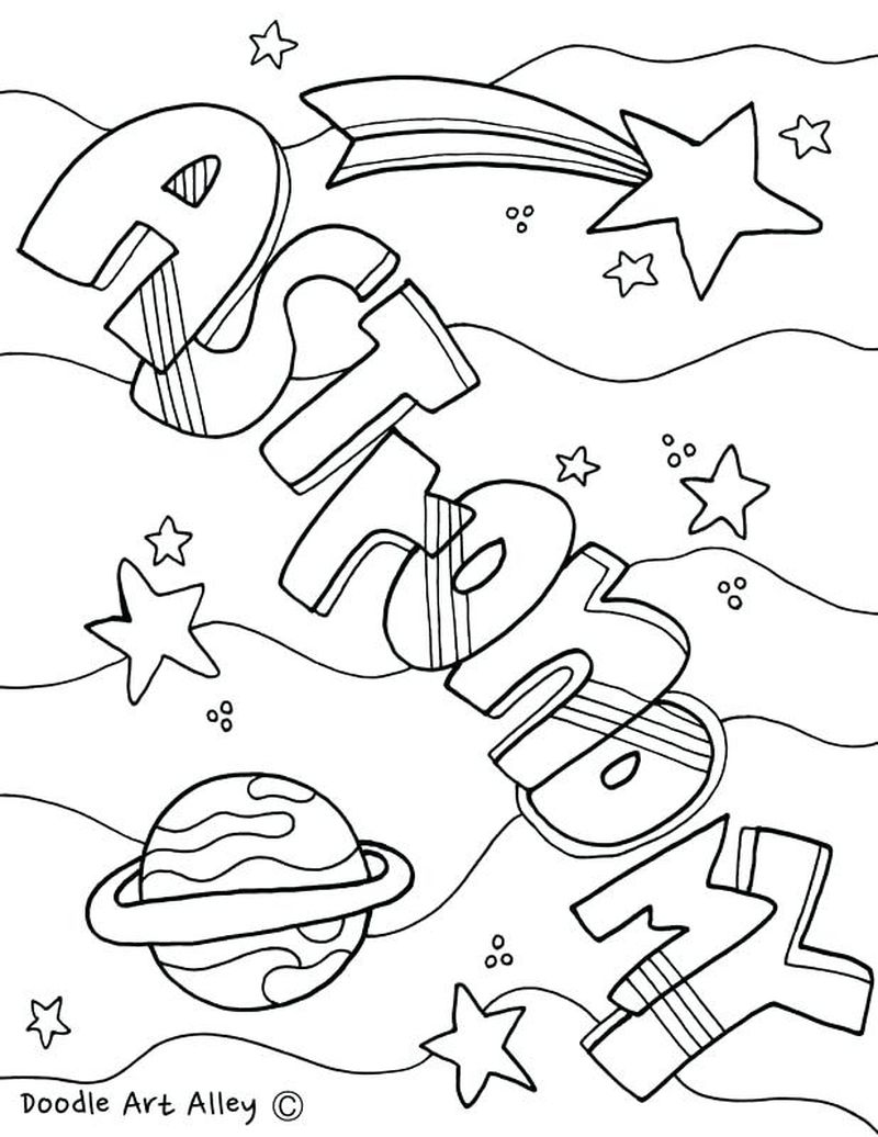 adult coloring pages science