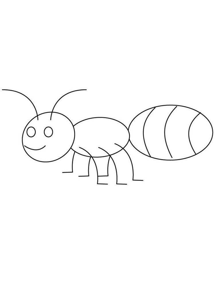 ant download coloring pages
