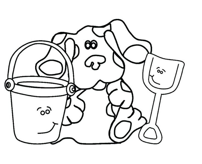 blues clues coloring sheets free