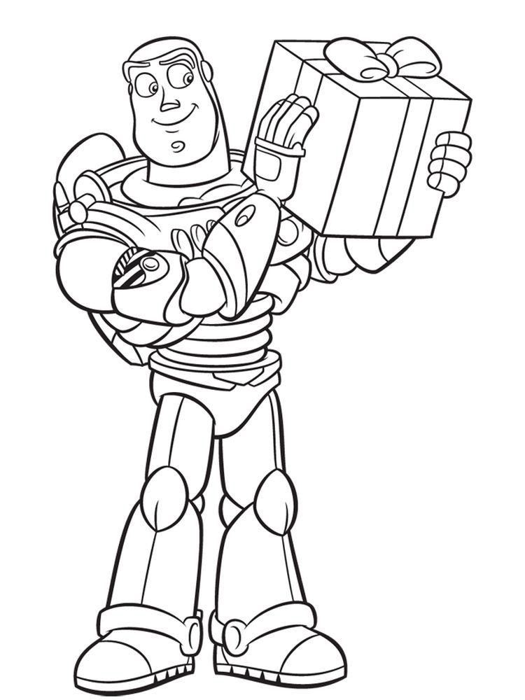 buzz lightyear colouring pages free print