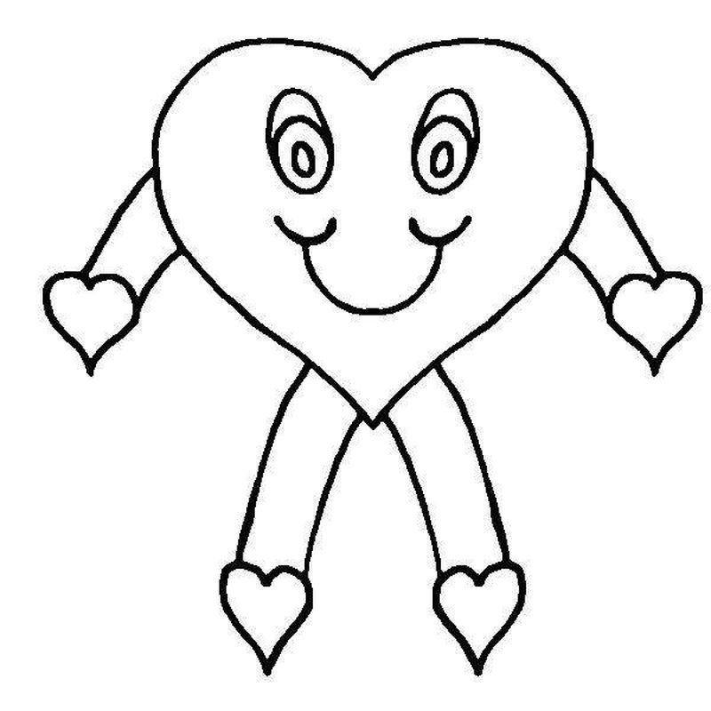 cartoon people coloring pages