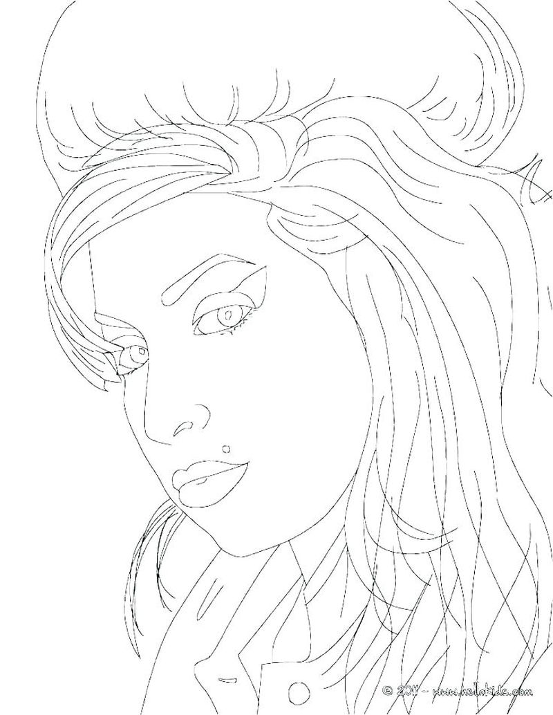 coloring pages for adults people Printable
