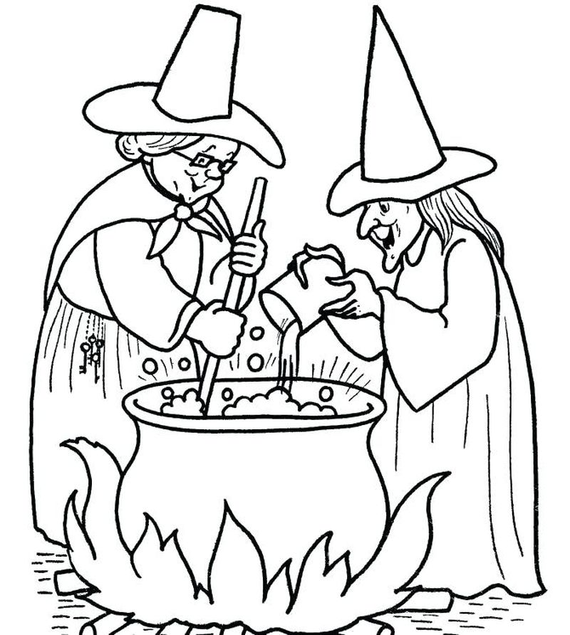 coloring pages for kids witch mercy