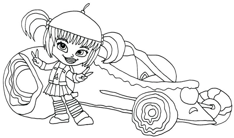 coloring pages for wreck it ralph
