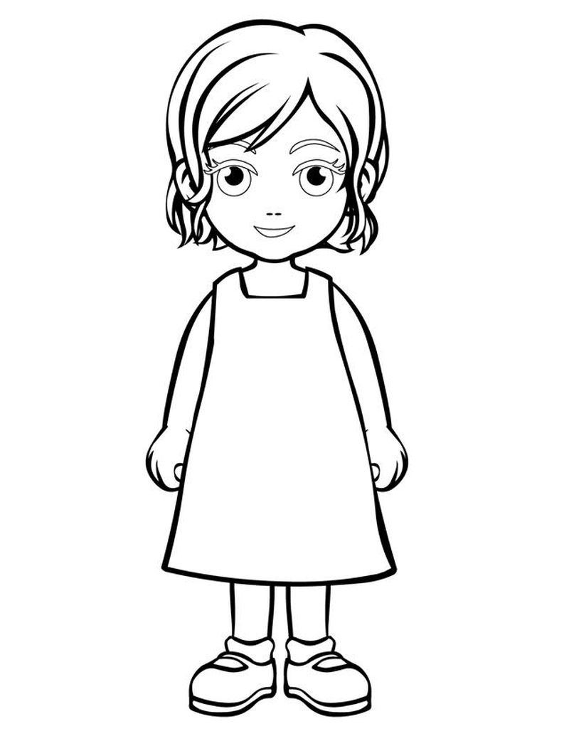 coloring pages of people Printable