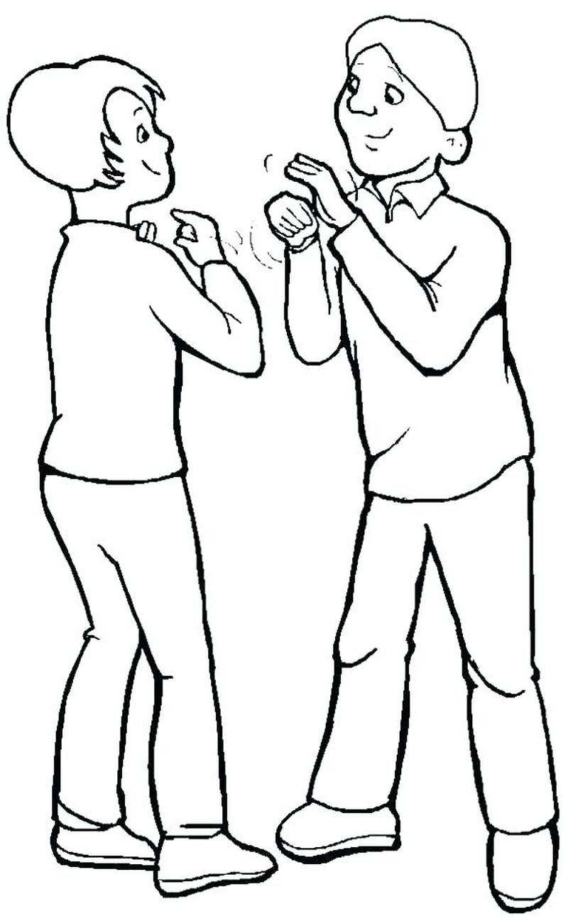 coloring pages of people dancing