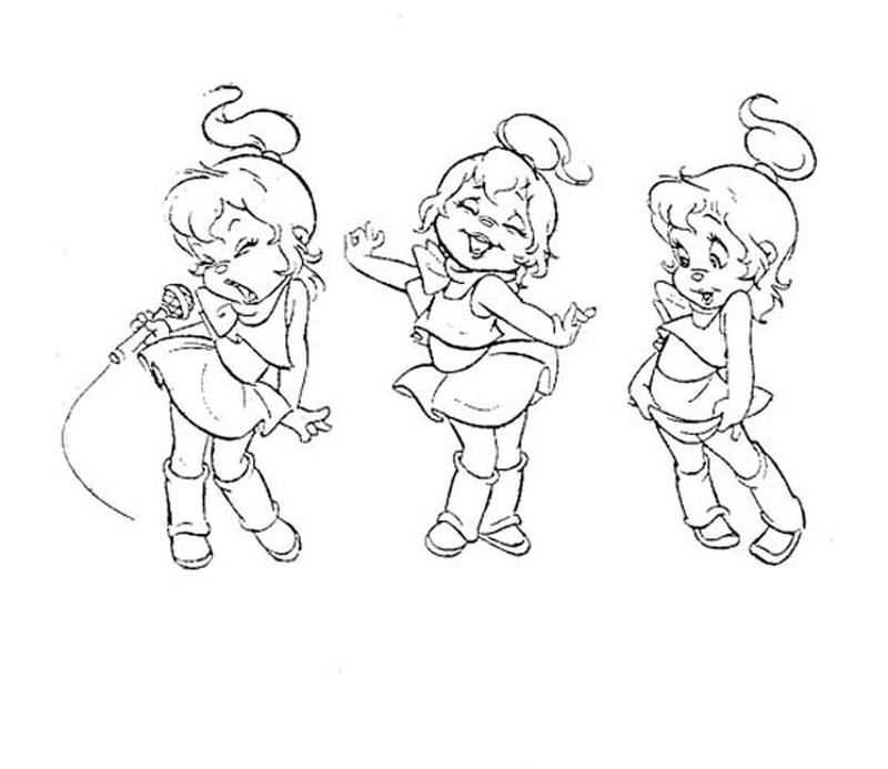 coloring pages of sing