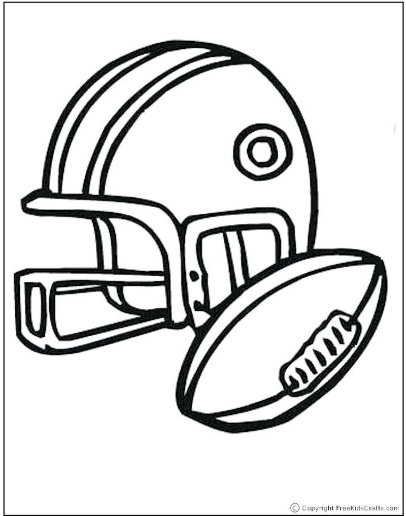 coloring pages of sports equipment