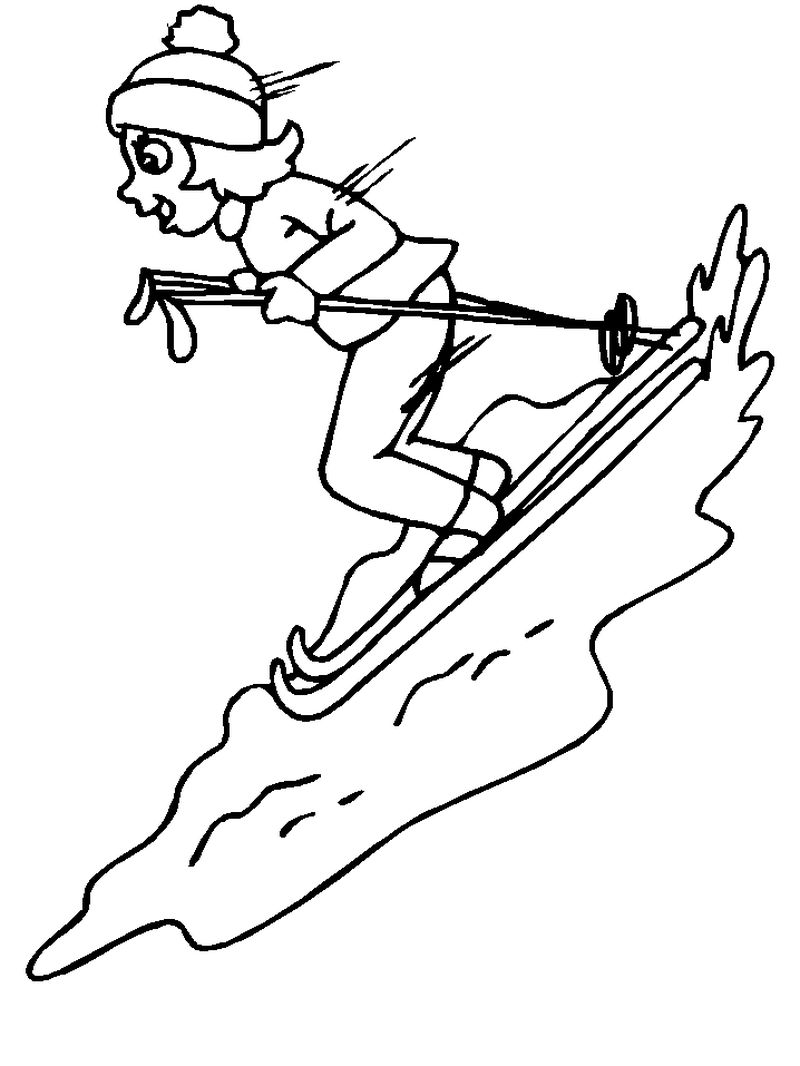 coloring pages olympic sports