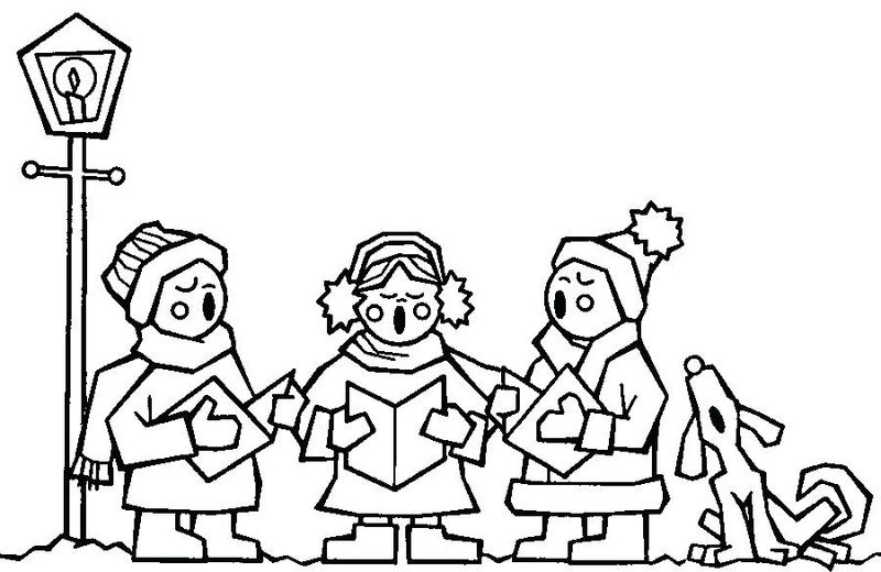 coloring pages sing Printable