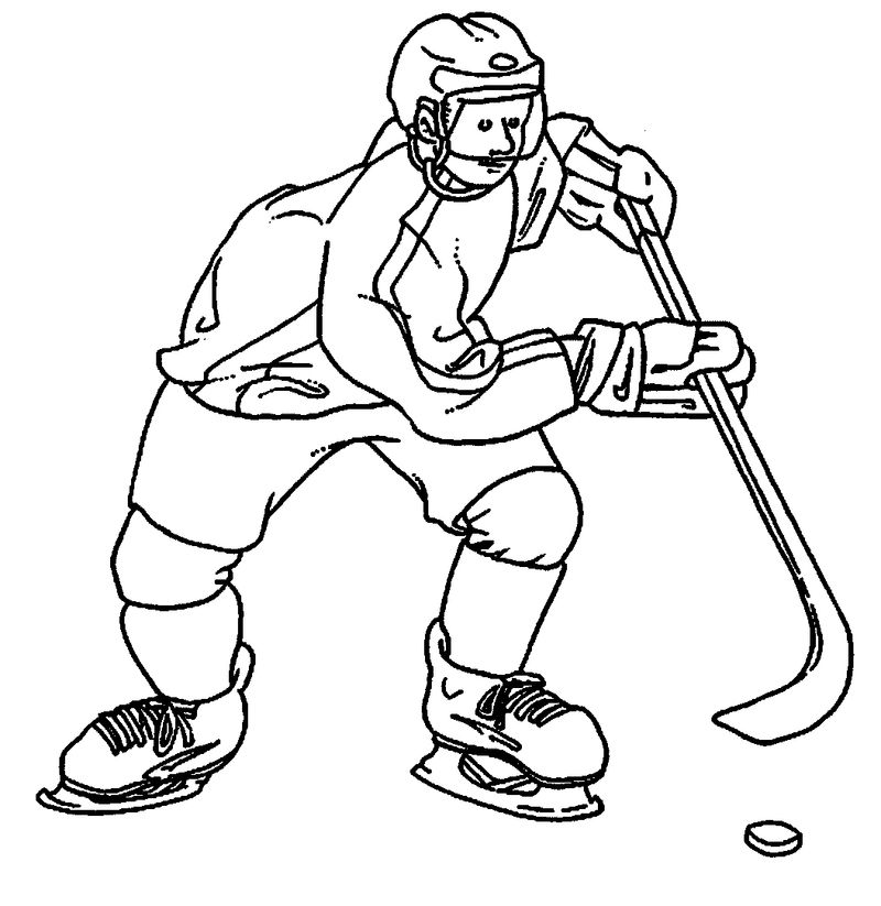 coloring pages sportsPrintable