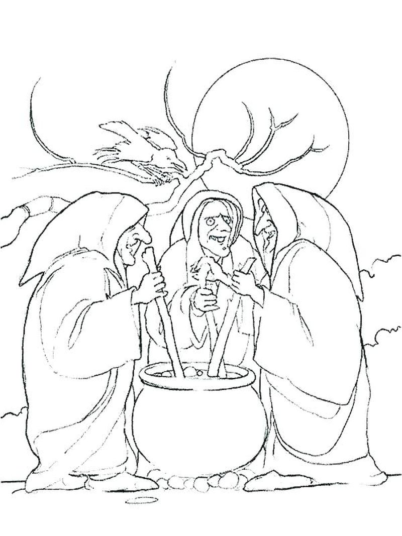 coloring pages wicked witch west
