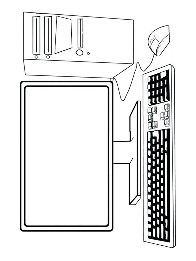 computer coloring pages online