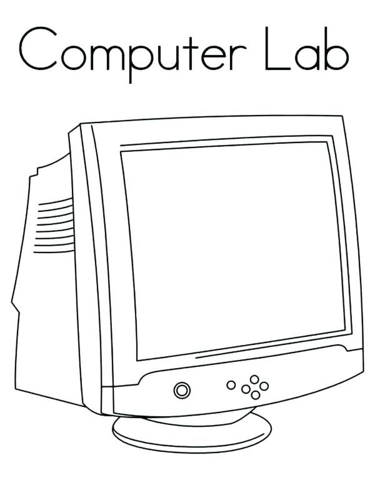 computer coloring pages