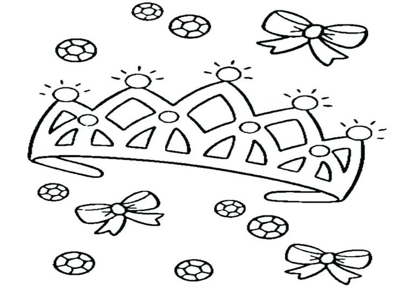 crown coloring pages online