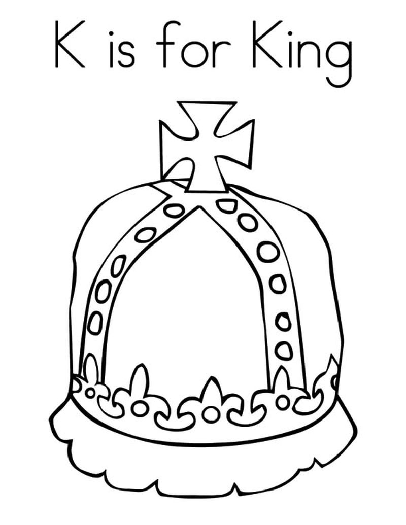 crown coloring pages printable