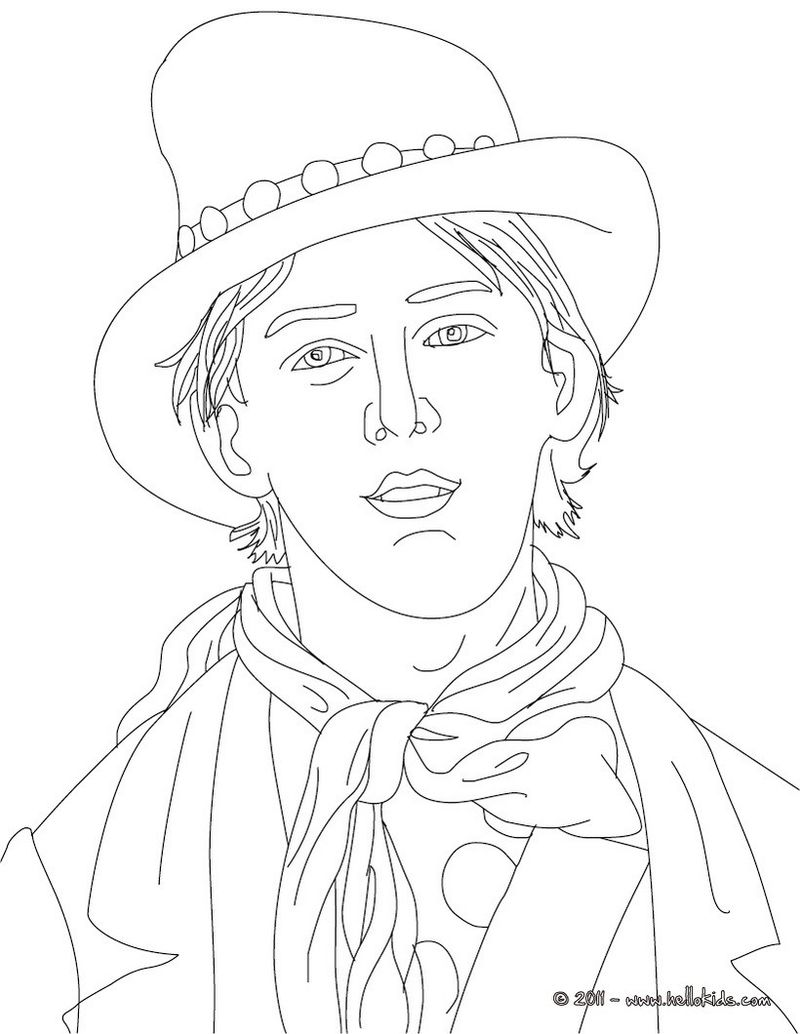 cute people coloring pages Printable