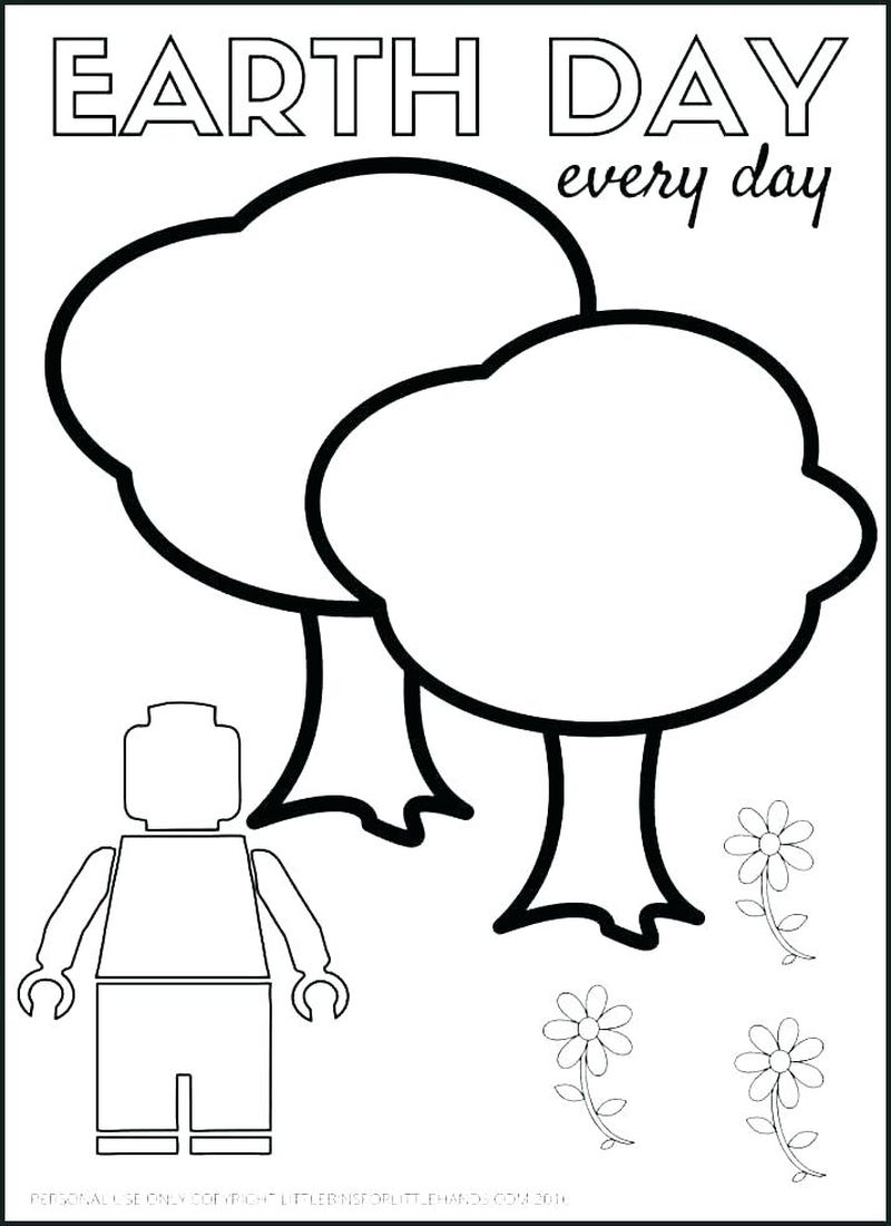 earth day 2018 coloring pages kindergarten