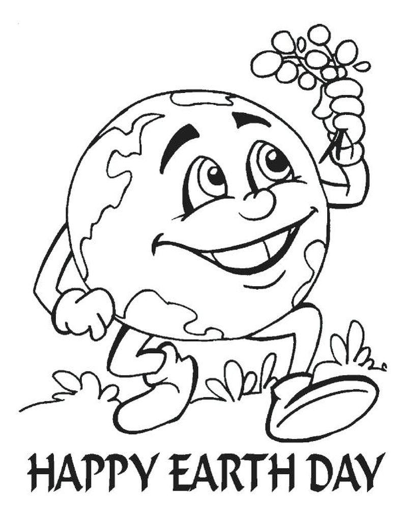 earth day adult coloring pages