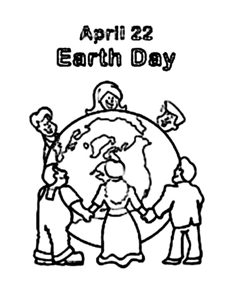 earth day coloring pages in spanish