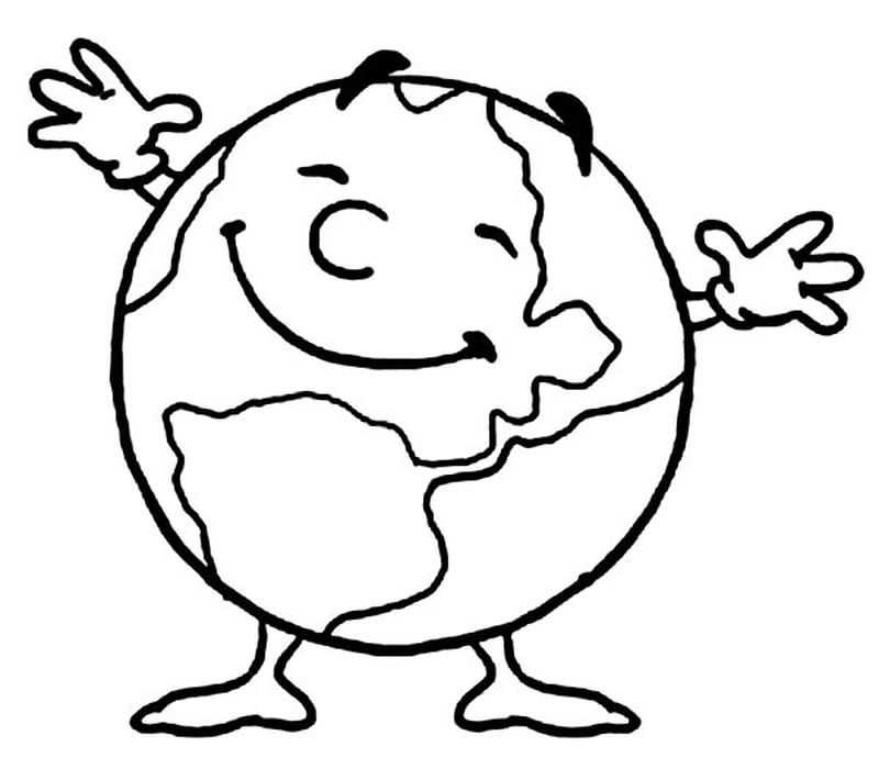 earth day coloring pages middle school