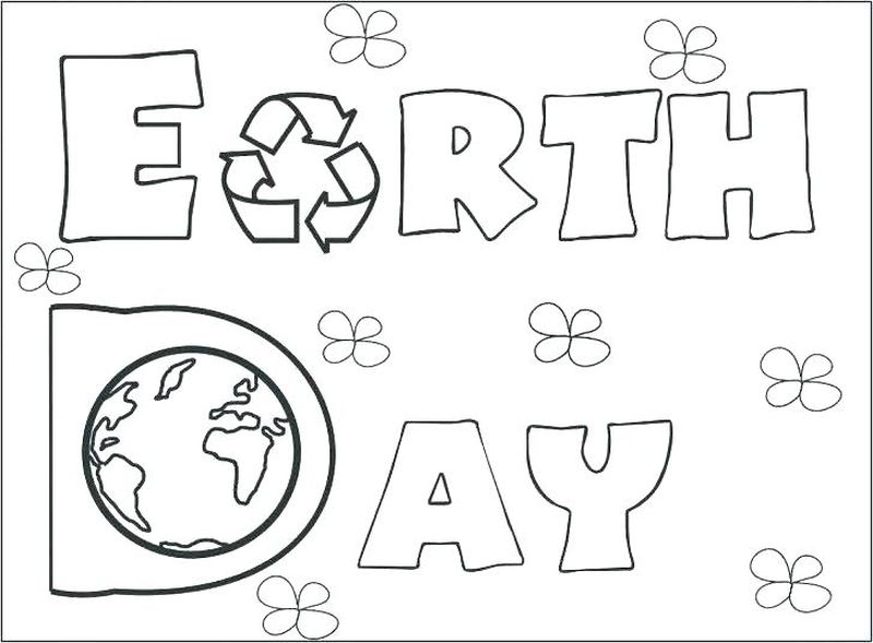 earth day coloring pages pop art free printables