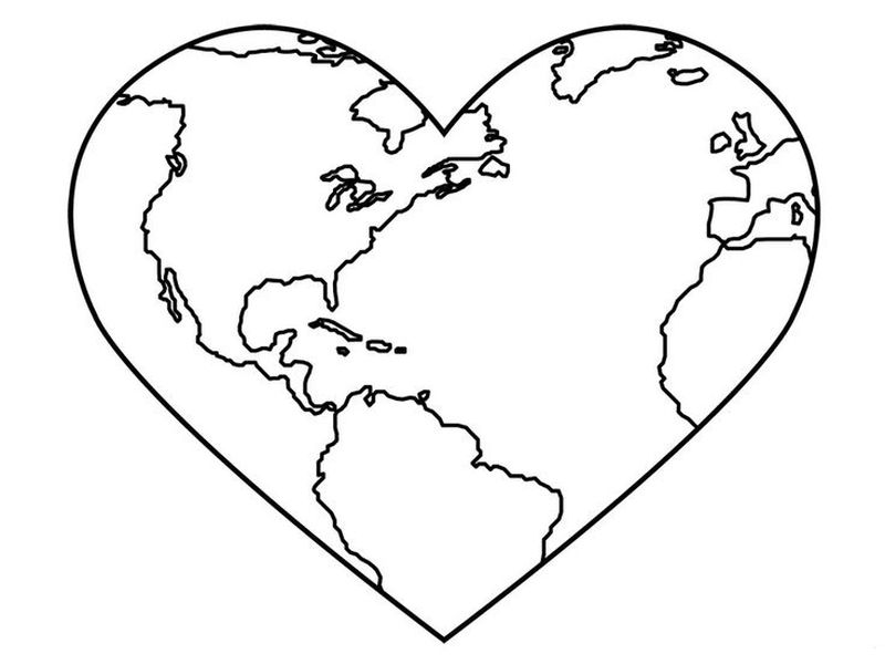 earth day coloring pages printable free