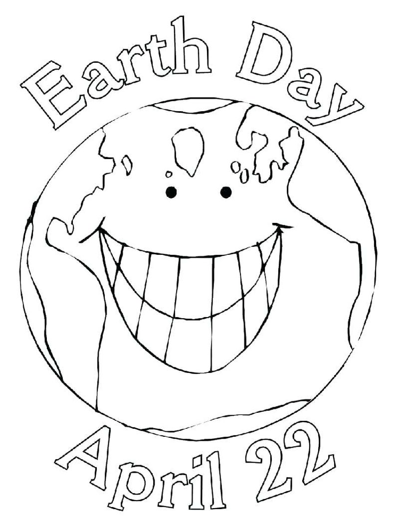 earth day coloring pages to color online