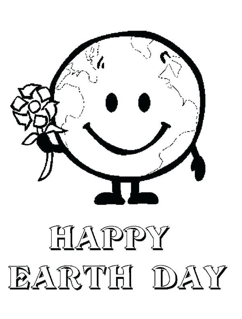 earth day free coloring pages
