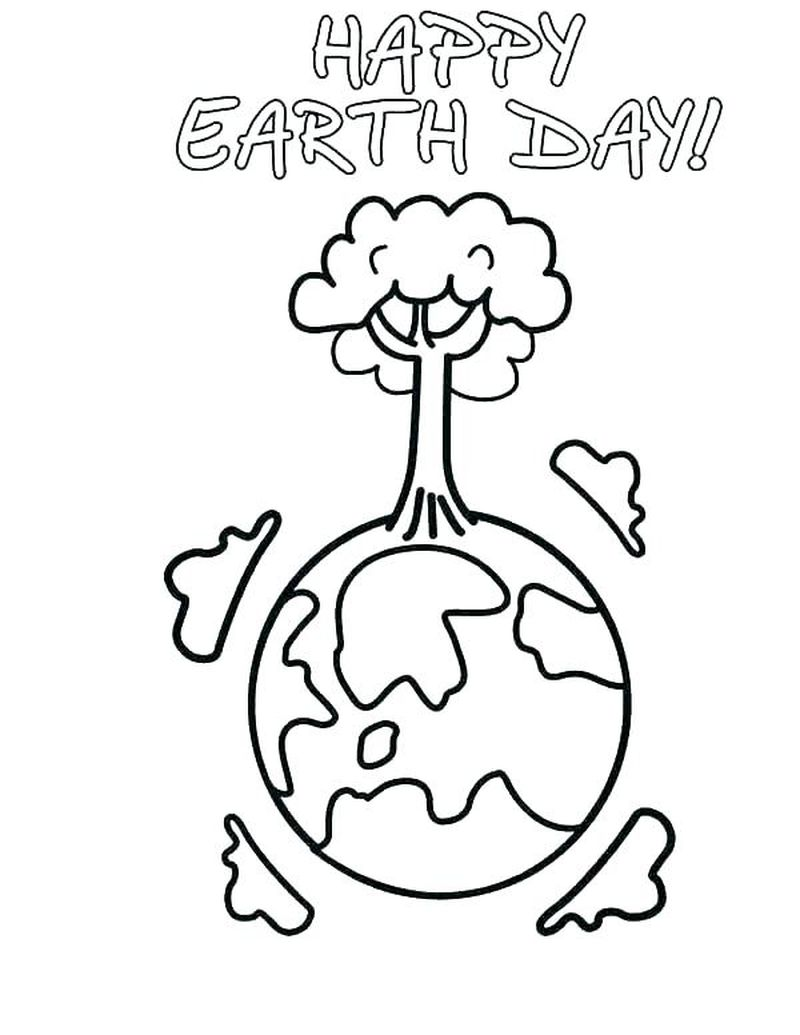 earth day girl scout coloring pages