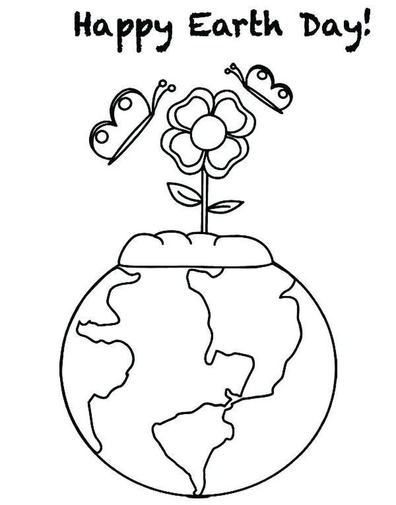 earth day to coloring pages Printable