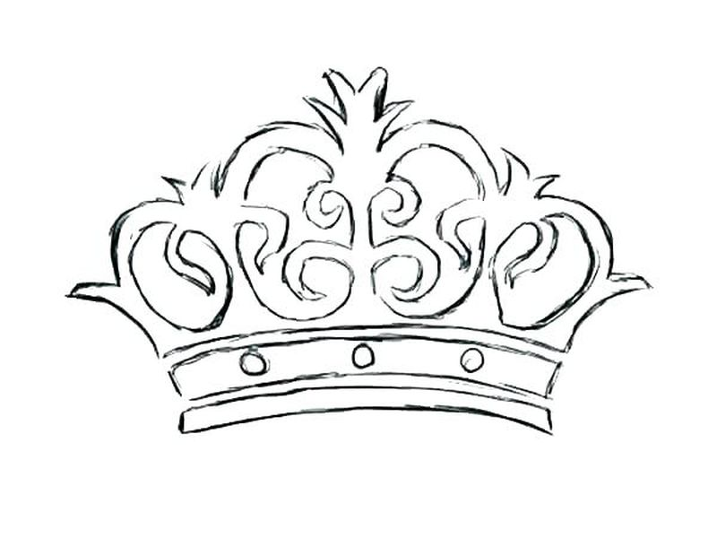 fairy crown coloring pages