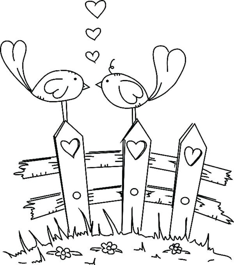 free PRINTABLE coloring pages wedding