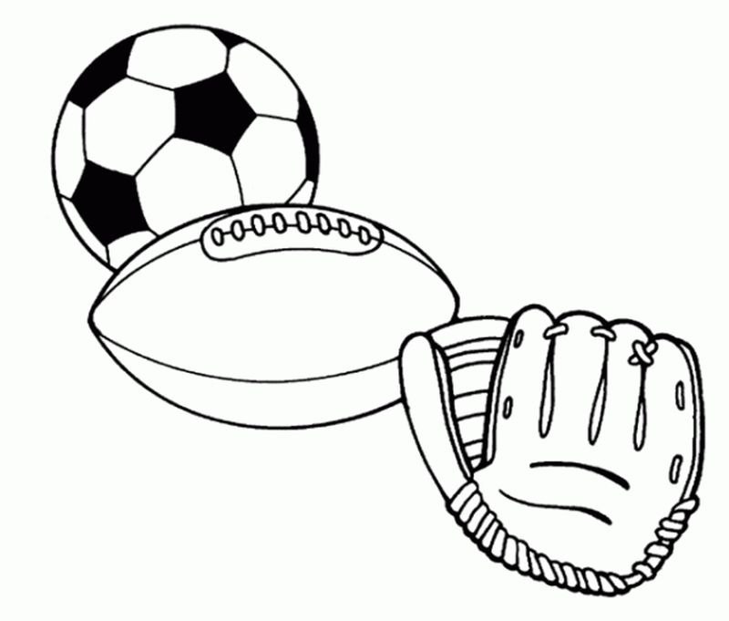 free coloring book pages sports