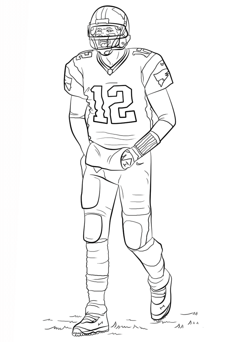 free coloring pages for boys sports