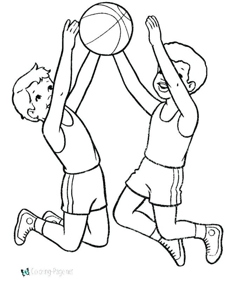 free coloring pages of sportsPrintable