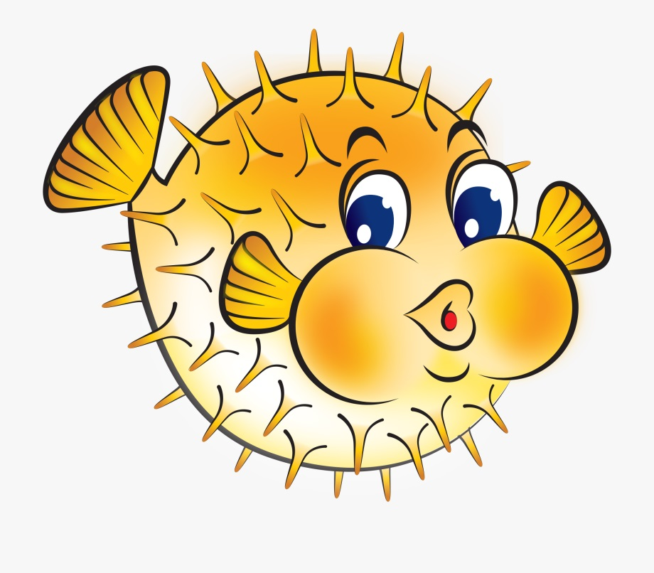 free puffer fish coloring