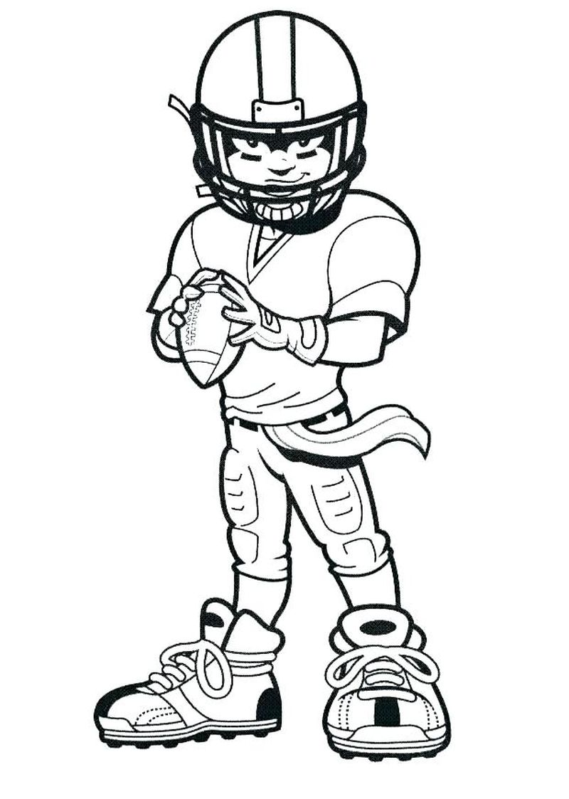 free sports coloring pages printable