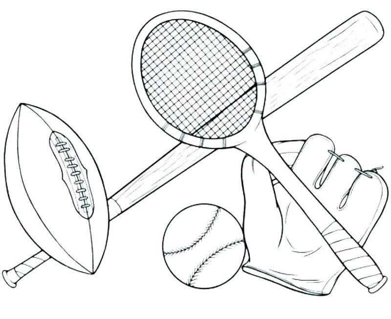free sports coloring pagesPrintable