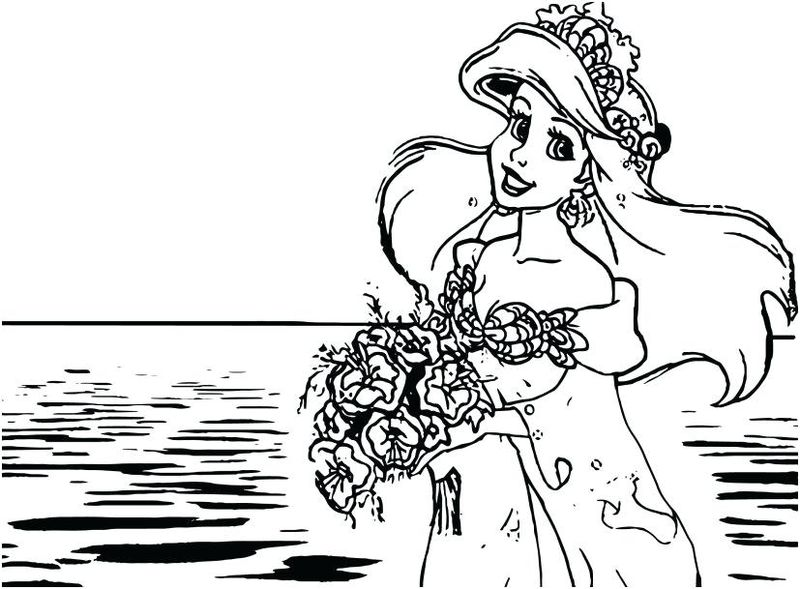 free wedding coloring book pages