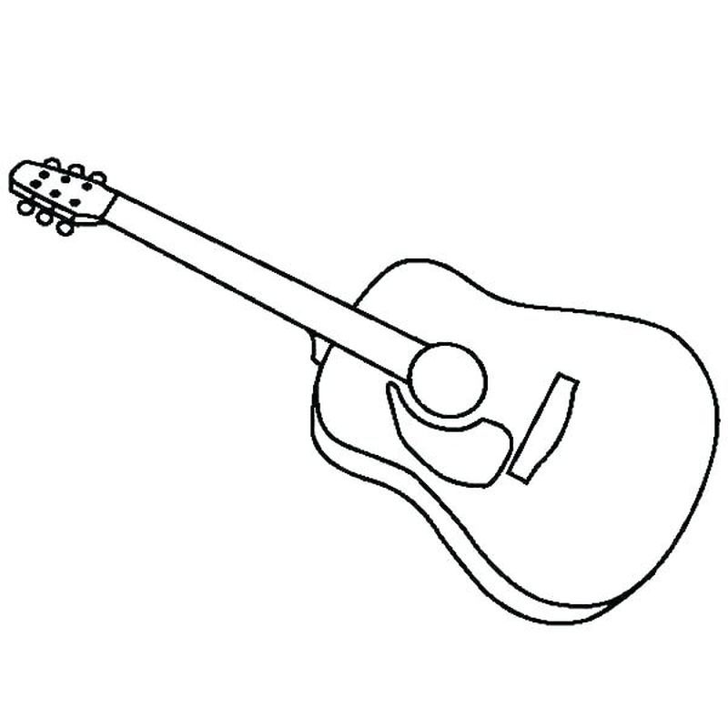 guitar coloring pages to print print
