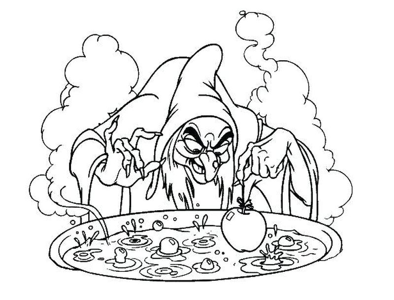 halloween coloring pages witch Printable
