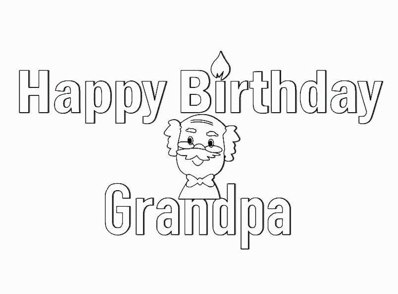 happy birthday coloring pages for aunt