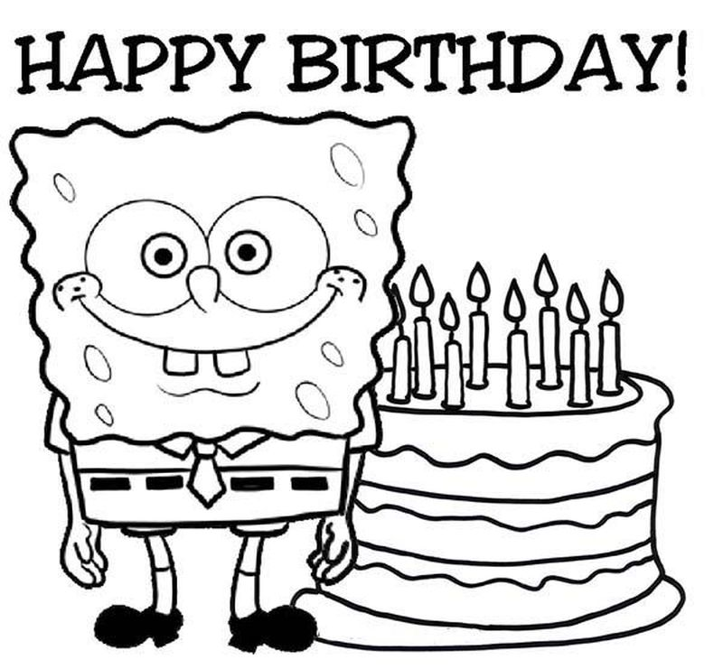 happy birthday coloring pages for sister printable