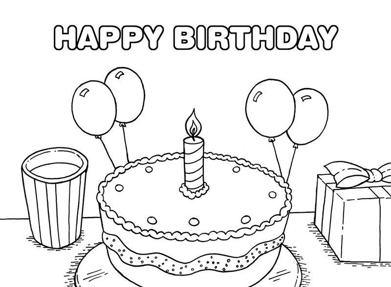 happy birthday papa coloring pages pdf
