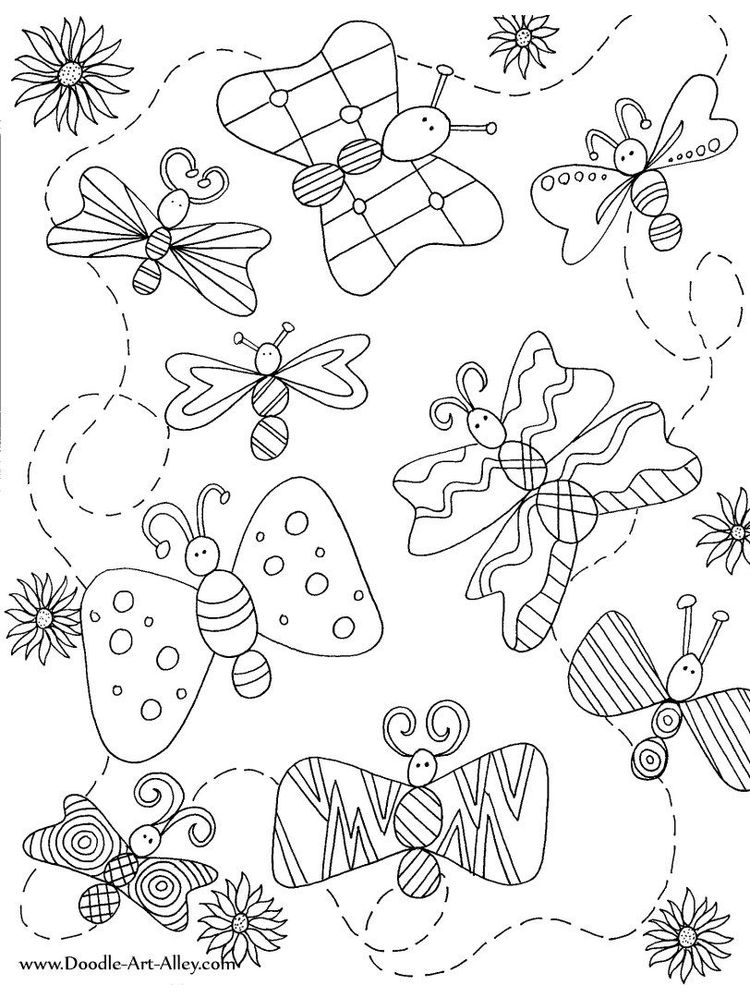 insect coloring pages for adults